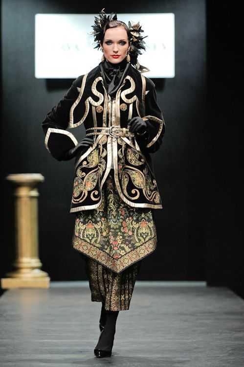 Модные показы зайцева