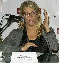 Michaela Goddart-Quesada (International Director of Scouting)
