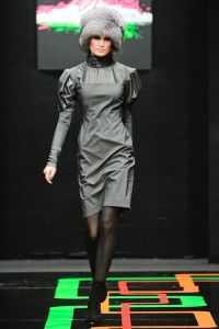 Показ Masha Kravtsova на Russian Fashion Week сезона осень-зима 2009/10