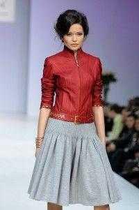 Лиза Романюк представила новую коллекцию в рамках Volvo-Недели моды в Москве