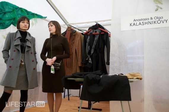 Сестры Калашниковы на шоу-руме