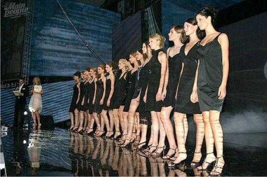 Финалистки Elite Model Look Russia 2007
