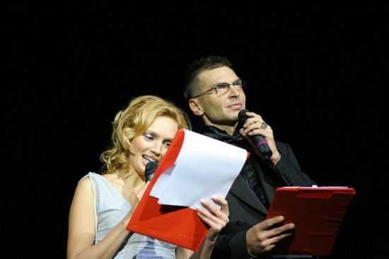 Александр Анатольевич и Маша Милютина